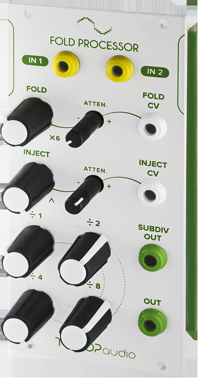 Fold Processor Tiptop Audio Circuit Add On Modular Grid