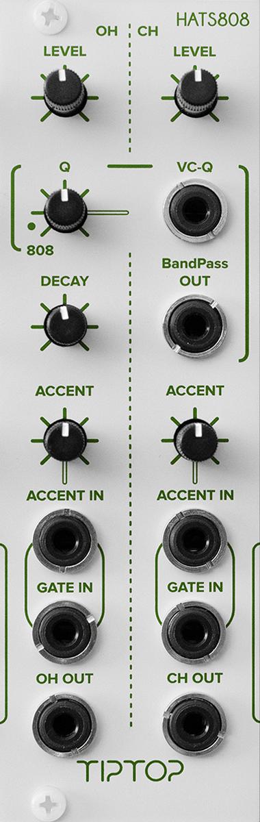 808 Analog Drum Modules - Tiptop Audio