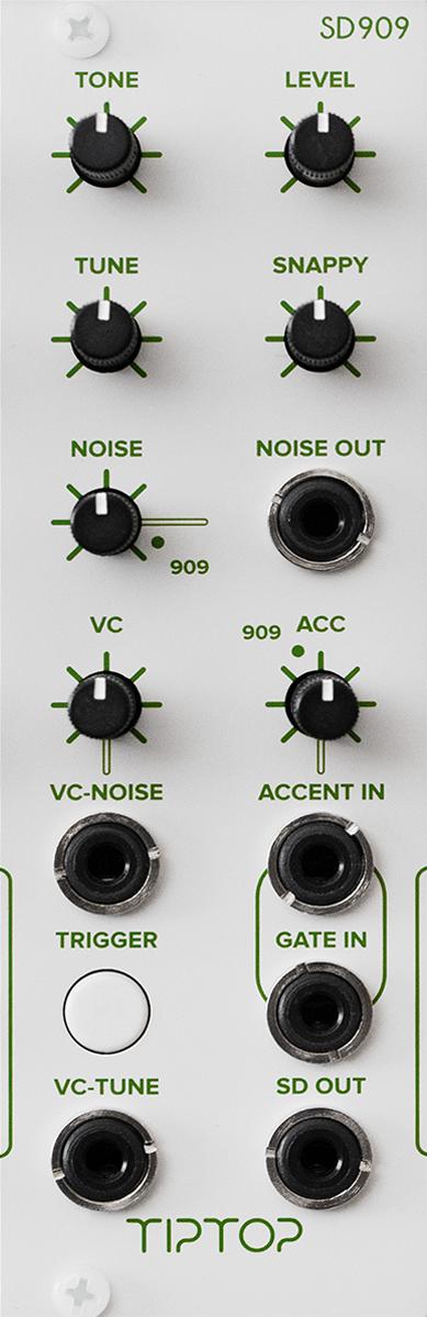 909 Analog Drum Modules - Tiptop Audio